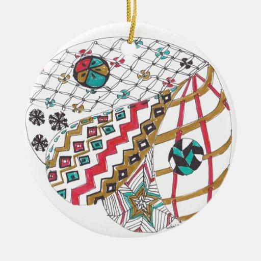enredo 6-12-13.jpg adorno navideño redondo de cerámica