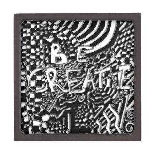Enredo de la creatividad caja de recuerdo de calidad