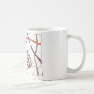 enredo dentado taza de café