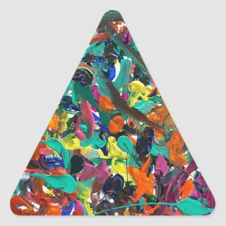 Enredo Pegatina Triangular