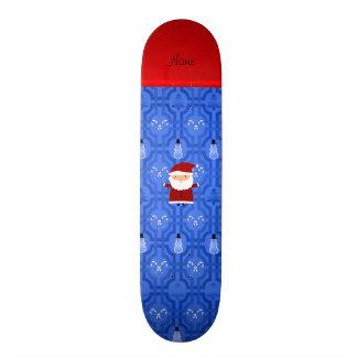 Enrejado azul conocido personalizado del muñeco de patin