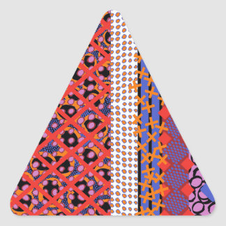Enrejado de Geo Pegatina Triangular