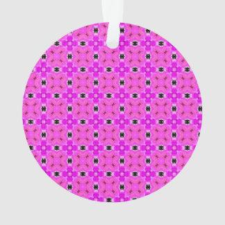 Enrejado del círculo del edredón moderno violeta