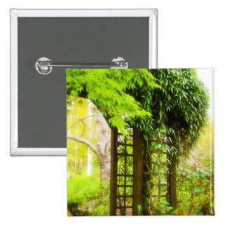 Enrejado del jardín pin