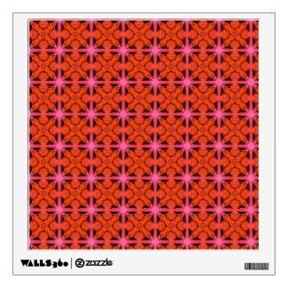 Enrejado marroquí abstracto que brilla vinilo adhesivo