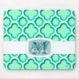 Enrejado marroquí embellecido (turquesa)… tapetes de ratón