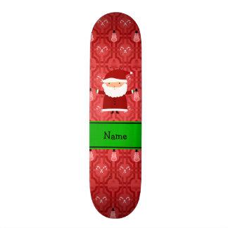 Enrejado rojo conocido personalizado del muñeco de patin personalizado