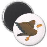 Enrick Eagle Fridge Magnet