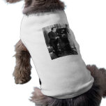 Enrico Caruso with a Victrola Brand Phonograph Doggie T-shirt