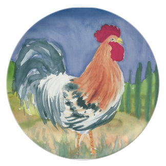 Enrico Rooster plate