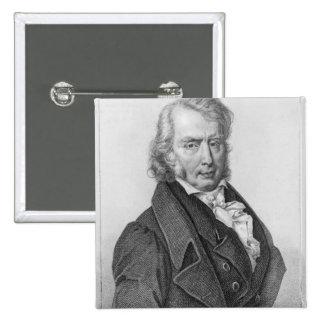 Enrique Benjamin Constant de Rebecque como diputad Pin