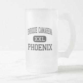 Enrique Camarena - Phoenix - Junior - Calexico Frosted Glass Beer Mug