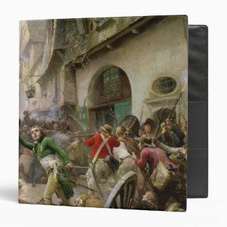 """Enrique de La Rochejaquelein en la batalla de Carpeta 1 1/2"""""""