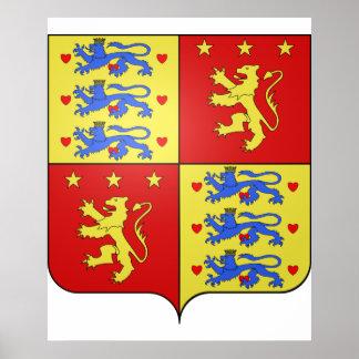 Enrique de Laborde de Montpezat, Dinamarca Póster