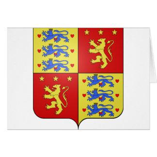 Enrique de Laborde de Montpezat, Dinamarca Tarjeta De Felicitación
