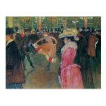 Enrique de - Lautrec- en el colorete, la danza Postal