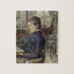 Enrique de Toulouse-Lautrec Comtesse Rompecabeza Con Fotos