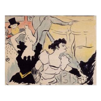 Enrique de Toulouse-Lautrec la bola Postales