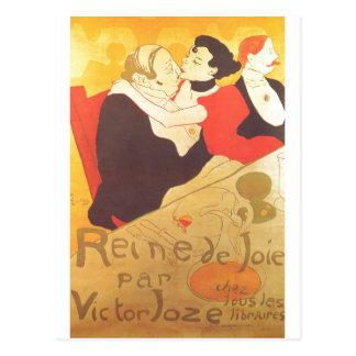 Enrique de Toulouse-Lautrec Reine de Joie Tarjeta Postal