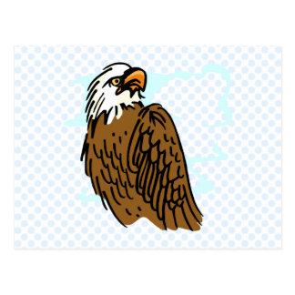 Enrique Eagle Postcard
