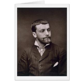 Enrique Gervex (1852-1929), de 'Galerie Contempora Tarjeton
