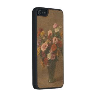 Enrique Latour - Zinnias Funda De Arce Carved® Para iPhone 5 Slim