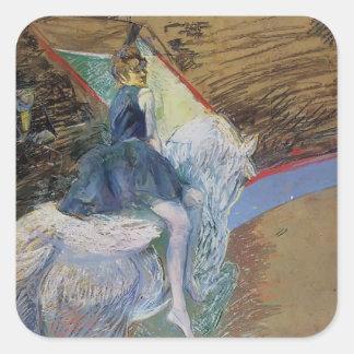 Enrique Lautrec: En el jinete de Cirque Fernando
