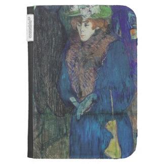 Enrique Lautrec- Jane Avril entra en el colorete