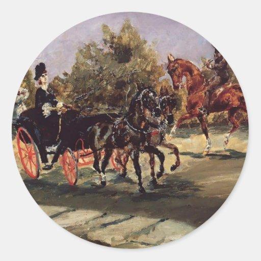 Enrique Lautrec- Niza, en el DES Anglais de la Pegatina Redonda