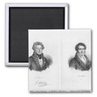Enrique Montan Berton y Francois Adrien Iman