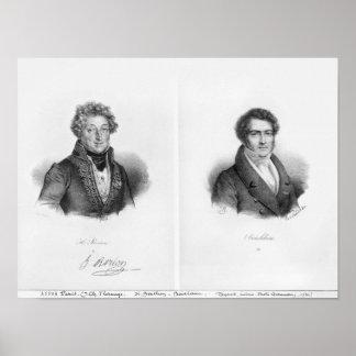 Enrique Montan Berton y Francois Adrien Poster