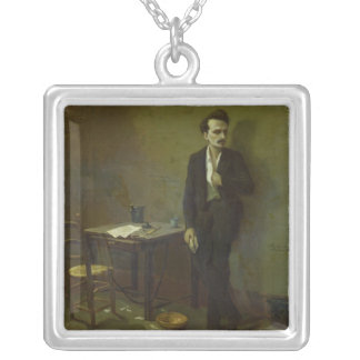 Enrique Rochefort en la prisión de Mazas 1871 Collar Personalizado