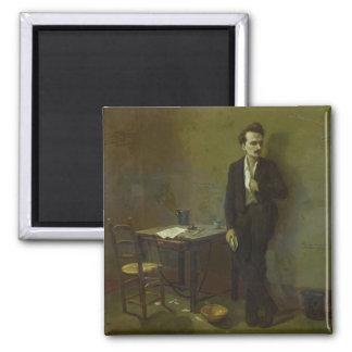 Enrique Rochefort en la prisión de Mazas, 1871 Iman De Frigorífico