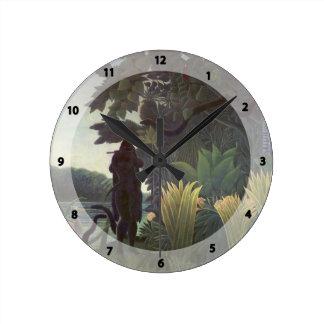 Enrique Rousseau- el encantador de serpiente Reloj