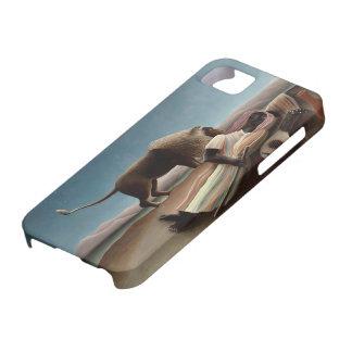 Enrique Rousseau- el gitano durmiente iPhone 5 Cárcasa