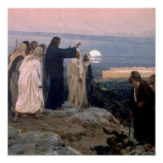Enrique Simonet 1892 Jesus inspirational  Faith Poster