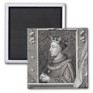 Enrique V (1387-1422), después de una pintura en K Imán Cuadrado