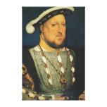 Enrique VIII de Inglaterra de Hans Holbein el más  Impresión De Lienzo