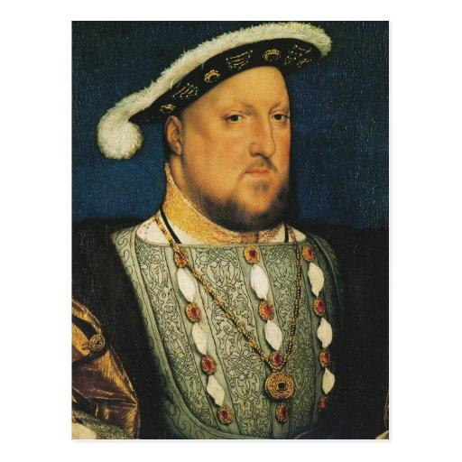 Enrique VIII de Inglaterra de Hans Holbein el más  Postal