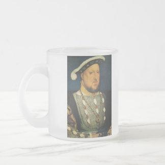 Enrique VIII de Inglaterra de Hans Holbein el más Taza De Cristal