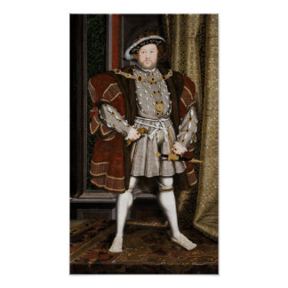 Enrique VIII de Inglaterra Póster