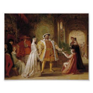 Enrique VIII y Ana Bolena Póster