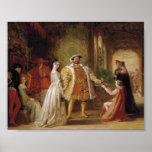Enrique VIII y Ana Bolena Posters