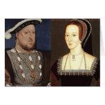 Enrique VIII y Ana Bolena Tarjetas