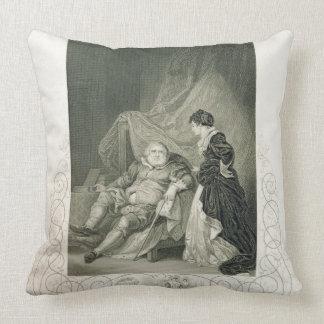 Enrique VIII y Catherine Parr, en el Enrique V del Cojin