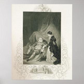 Enrique VIII y Catherine Parr, en el Enrique V del Poster