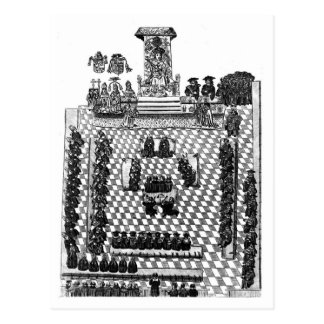 Enrique VIII y el parlamento en 1523 Postales