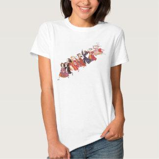 Enrique VIII y su camiseta del dibujo animado de Poleras