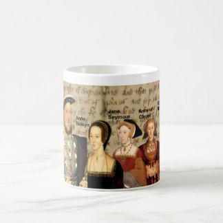 Enrique VIII y su taza de las esposas