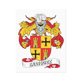 Enriquez Family Crest Canvas Print